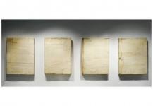Family.1998-2002. Técnica mixta sobre tela y madera. (Políptico) 81 x 61 x 11 cm c.u