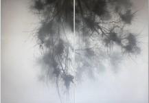 Palma 160×110 (x2). Técnica Acrílico. 2012.