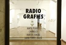 RADIO GRAFIES. Marta Pujades, Chubasco, Marcos Juncal, Laura Torres Bauzá. 23 Enero – 23 Marzo, 2015.