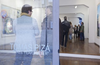 "Art Palma brunch 2015. Inauguración Tomás Pizá ""Three years later""."
