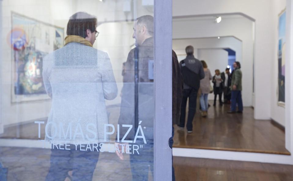 "Art Palma brunch 2015. Inauguración Tomás Pizá ""Three years later""."