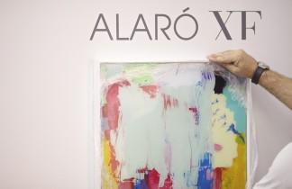 """ALARÓ XF. Montaje de la exposición de Santiago Picatoste """"Magnet"""". Alart 2015. Nit de l'Art de Alaró. Inauguración August 7th 7PM."""