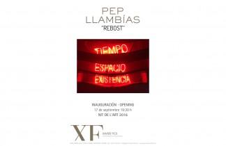 """Galería XF próxima exposición: PEP LLAMBÍAS """"Rebost"""". Inauguración 17 de Septiembre 19:30h. Nit de l'Art 2016"""