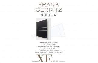 """Madrid XF Proyectos. Próxima exposición: FRANK GERRITZ """"In the clear"""". 19 de Noviembre 2016."""