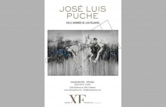 """Madrid XF Proyectos. Próxima exposición: JOSÉ LUIS PUCHE """"En el nombre de los pájaros"""". Inauguración 20/01/2018. 12:00h"""