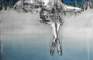 """Montaje de la exposición """"Lo que vieron los vientos del sur"""" JOSÉ LUIS PUCHE. Inauguración 22/09/2018 20:00h. Nit de l'Art 2018."""