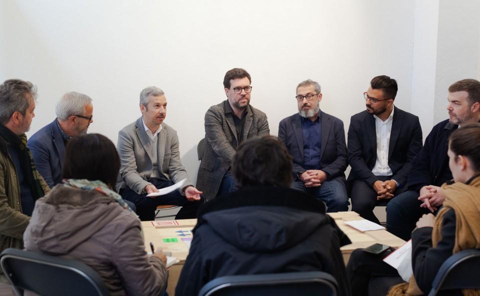 Rueda de prensa Art Palma Brunch 2019 en Galería XF